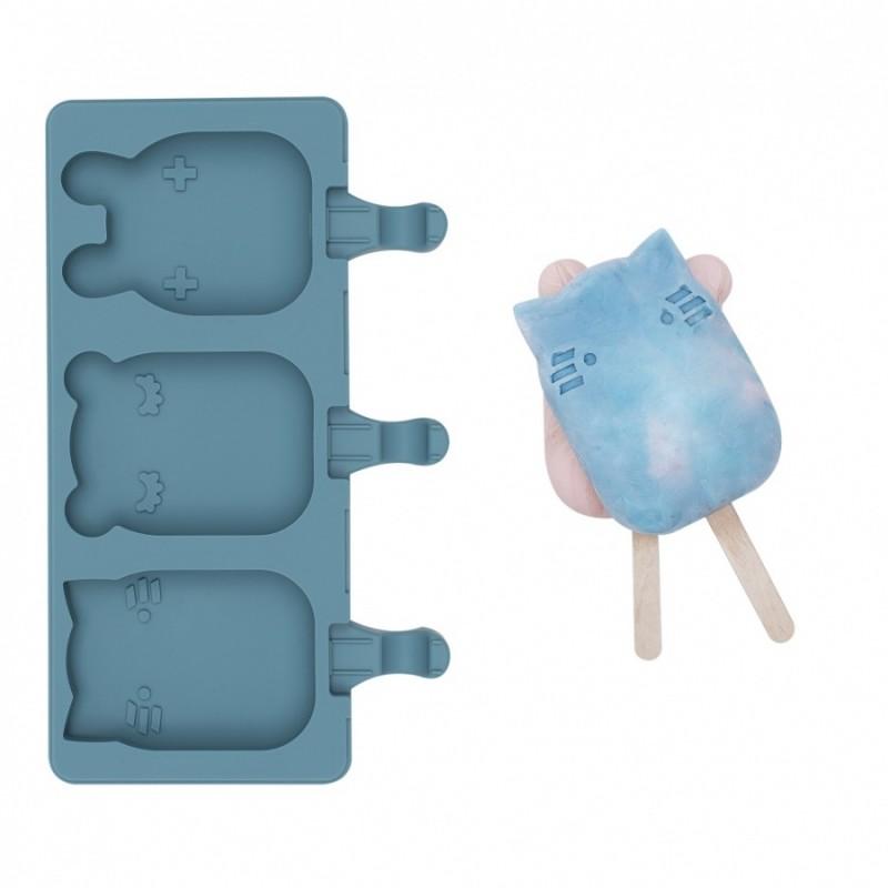 Silikonowe foremki do lodów We Might Be Tiny/ NIEBIESKI /