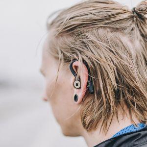 Słuchawki bezprzewodow szare bGEM Kreafunk